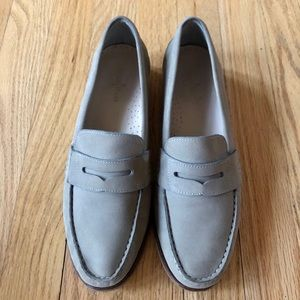 Cole Haan Grand Penny Loafer in Grey